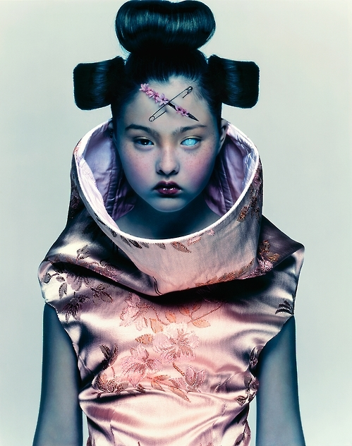 """Devon Aoki for Alexander McQueen,"" 1997. The image is courtesy of Nick Knight. (Yonhap)"
