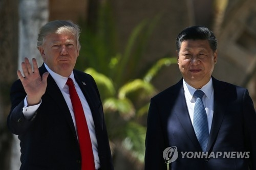 (6th LD) Trump, Xi agree to work together to convince N. Korea to abandon nuclear program - 2