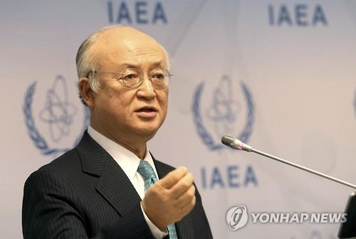 IAEA chief expresses serious concern about N.K. nuclear program - 1