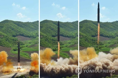 N. Korea's ICBM, if fully developed, would reach San Diego with nuclear warhead, multiple decoys: U.S. expert - 1
