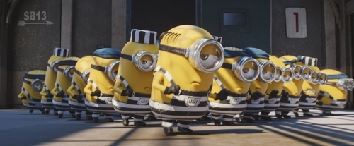"This photo released by UPI Korea shows a scene from ""Despicable Me 3."" (Yonhap)"