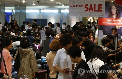 S. Korea's domestic consumer index hits near 7-year high on THAAD row easing - 1