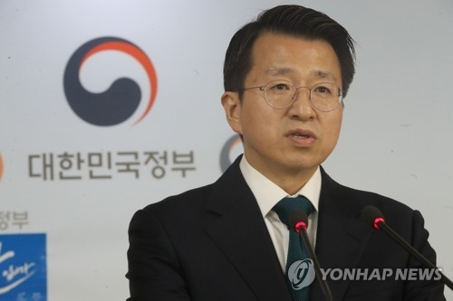 This file photo shows Baik Tae-hyun, spokesman at the Ministry of Unification. (Yonhap)