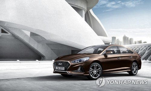 Hyundai's Sonata outdone by SUV model in sales for January-June period