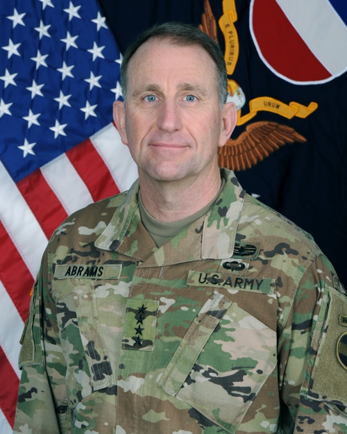 This photo from the U.S. Army Forces Command shows Gen. Robert B. Abrams. (Yonhap)