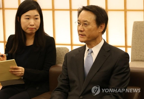 South Korean Ambassador to Japan Lee Su-hoon in a file photo (Yonhap)
