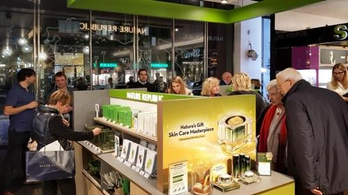 S. Korean cosmetics firm Nature Republic moves into Italy