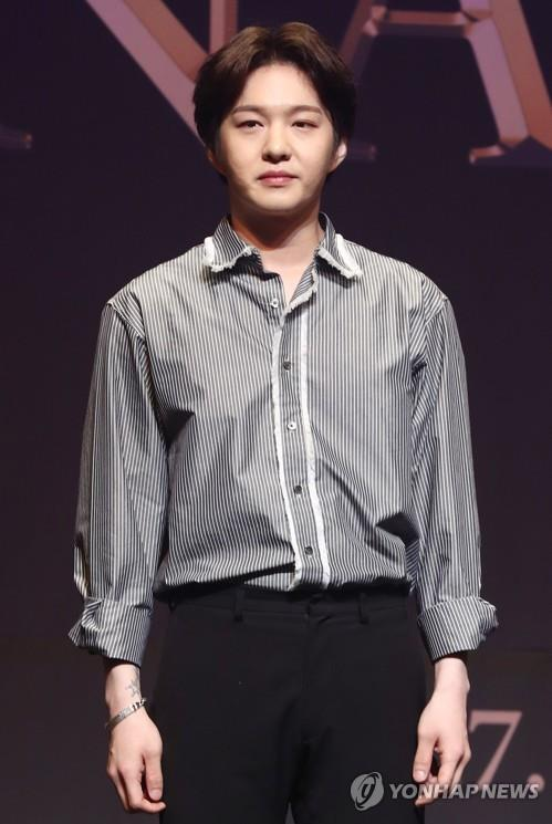 This file photo shows Lee Changsub of boy group BTOB. (Yonhap)