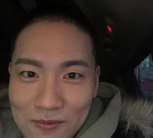 This image of rapper Hanhae is captured from his Instagram account. (Yonhap)