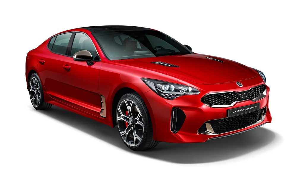 Kia launches upgraded Stinger sports car