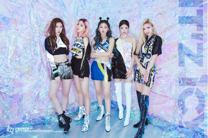 This album image of ITZY is provided by JYP Entertainment. (PHOTO NOT FOR SALE) (Yonhap)