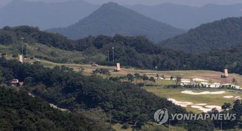 (LEAD) Construction resumes at S. Korea's THAAD base
