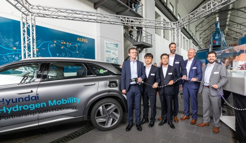 Hyundai's hydrogen JV with Swiss firm sets sail