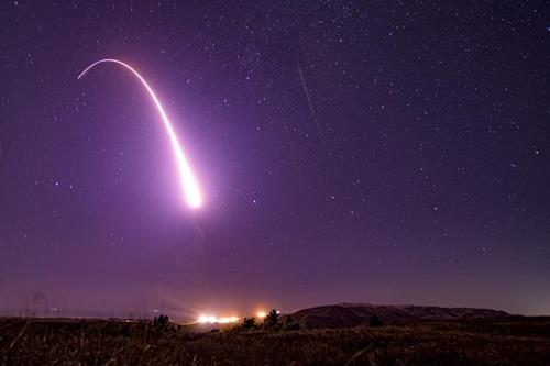 U.S. tests ICBM on same day N. Korea fires presumed SLBM