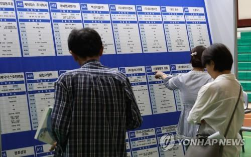 Korea's jobless rate falls to 3 pct in October, 419,000 jobs created
