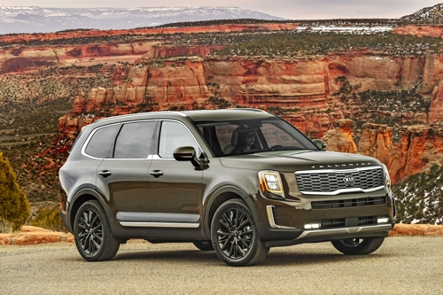 Kia Telluride named MotorTrend's SUV of the Year 2020