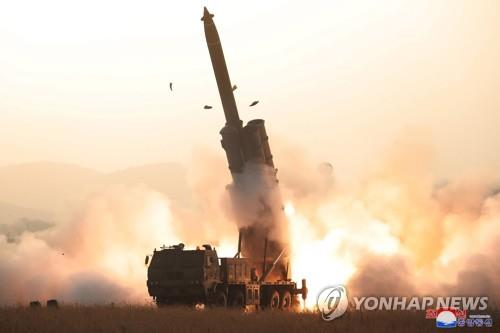 (2nd LD) N. Korea fires 2 projectiles, apparently from super-large multiple rocket launcher: JCS