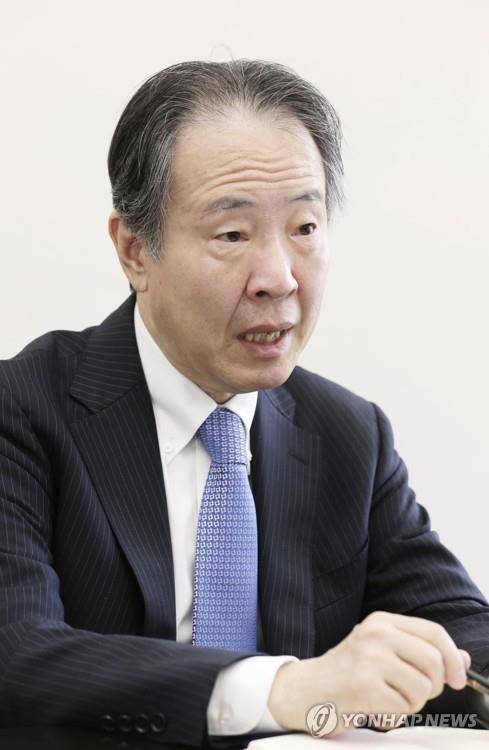 This file photo shows new Japanese Ambassador to South Korea Koji Tomita. (Yonhap)