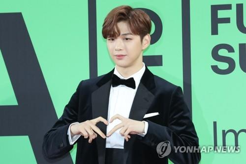 This photo shows Kang Daniel. (Yonhap)