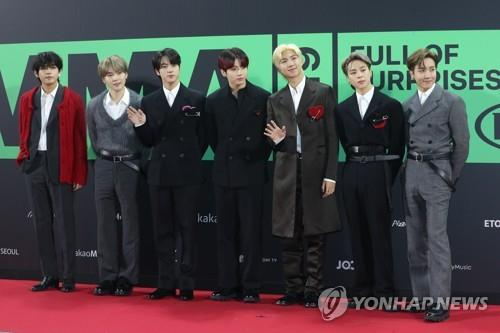 BTS' latest three concerts in Seoul had economic effect of 1 tln won: report