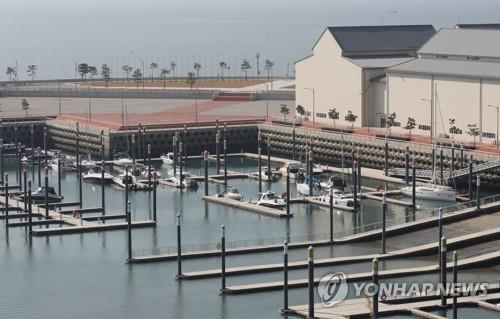 Wangsan Marina in Incheon, 40 kilometers west of Seoul (Yonhap)