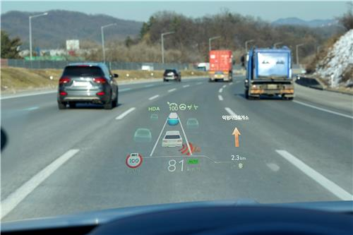 (LEAD) Hyundai Mobis to enter global head-up display market