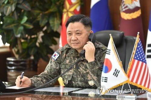 S. Korea's top military commander, EU military chief vow cooperation against coronavirus