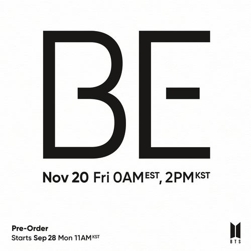 BTS to drop new album 'BE' in Nov.