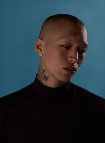 This photo, provided by hip-hop label MKIT RAIN, shows rapper Owen. (PHOTO NOT FOR SALE) (Yonhap)