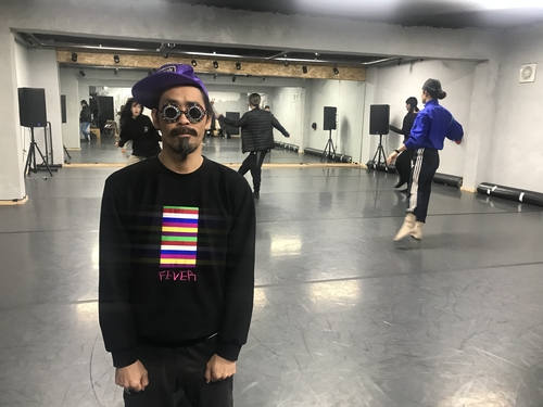 Kim Bo-ram, artistic director of Ambiguous Dance Company, poses at the group's studio in southern Seoul on Nov. 10, 2020. (Yonhap)