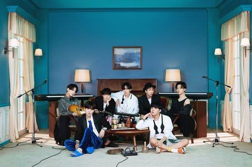 """This photo, provided by Big Hit Entertainment, shows a concept photo for BTS' latest album """"BE."""" (PHOTO NOT FOR SALE) (Yonhap)"""
