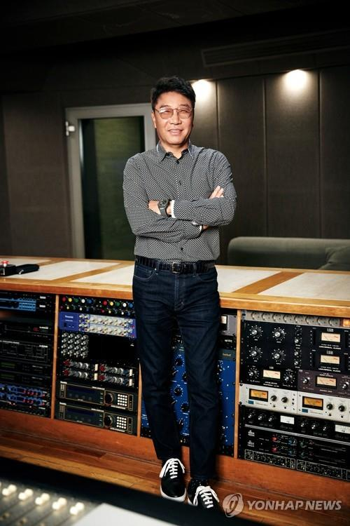 This photo, provided by SM Entertainment, shows its chief producer and founder Lee Soo-man. (PHOTO NOT FOR SALE) (Yonhap)
