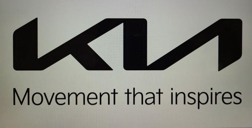 Kia Motors Corp.'s new company name and logo in this photo provided by the company (PHOTO NOT FOR SALE). (Yonhap)