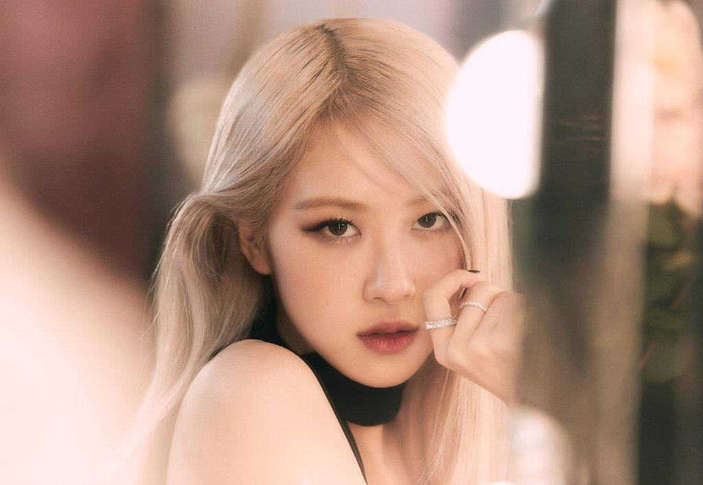 This photo, provided by YG Entertainment, shows BLACKPINK member Rose. (PHOTO NOT FOR SALE) (Yonhap)