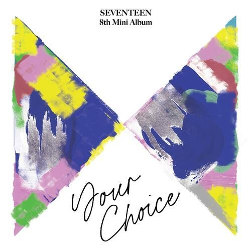 """This photo, provided by Pledis Entertainment, shows the online cover for K-pop boy band Seventeen's new EP """"Your Choice."""" (PHOTO NOT FOR SALE) (Yonhap)"""