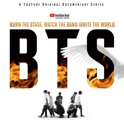 Poster du documentaire «Burn the Stage».