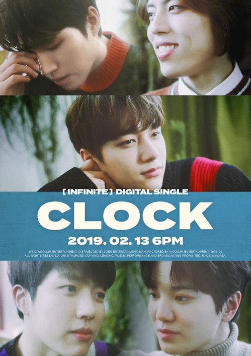 K-pop : Infinite fera son retour avec un nouveau single, «CLOCK»