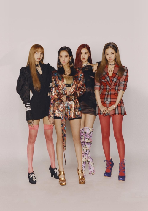 Le girls band de K-pop BLACKPINK © YG Entertainment