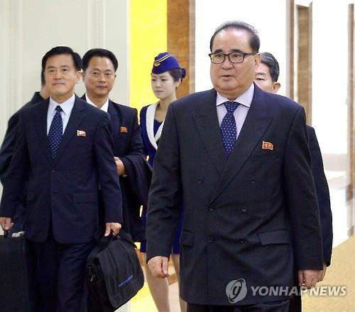 Ri Su-yong, en charge des affaires internationales du Parti du travail de Corée. (Kyodo=Yonhap)