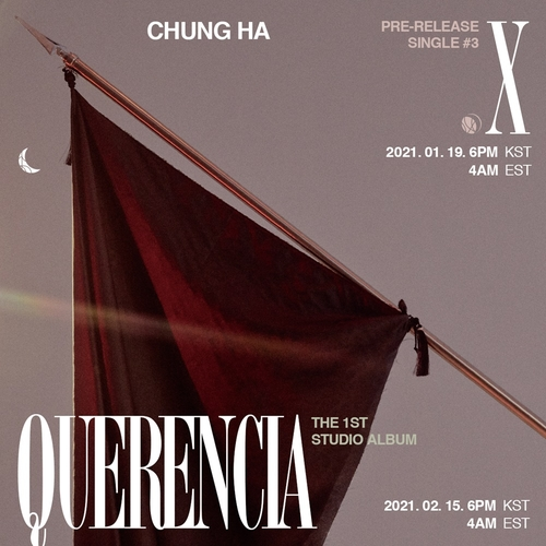 Teaser de «Querencia» de Chungha fourni par MNH Entertainment. (Revente et archivage interdits)