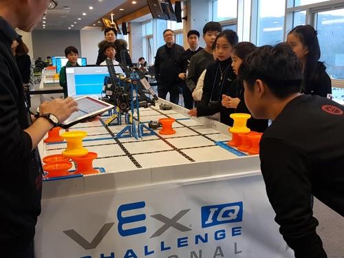 '벡스 아이큐 로봇 내셔널 대회' 성료…230여명 학생 참가 - 1