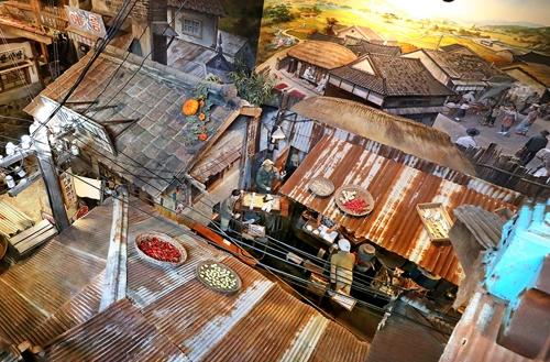 계단에서 바라본 마을 풍경 [사진/조보희 기자]