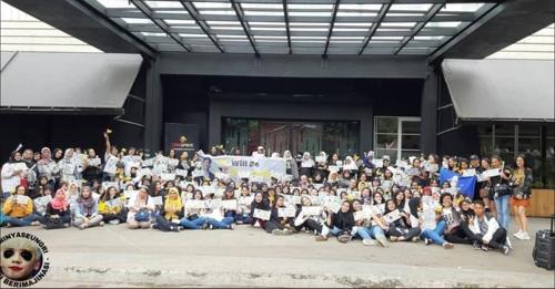 VIP memberi dukungan untuk Seungri