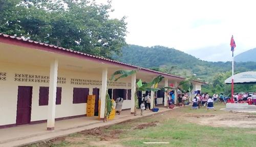현대차 직원이 기증한 라오스 초등학교