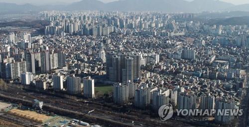 서울 강동구 일대 아파트 모습 [연합뉴스 자료사진]