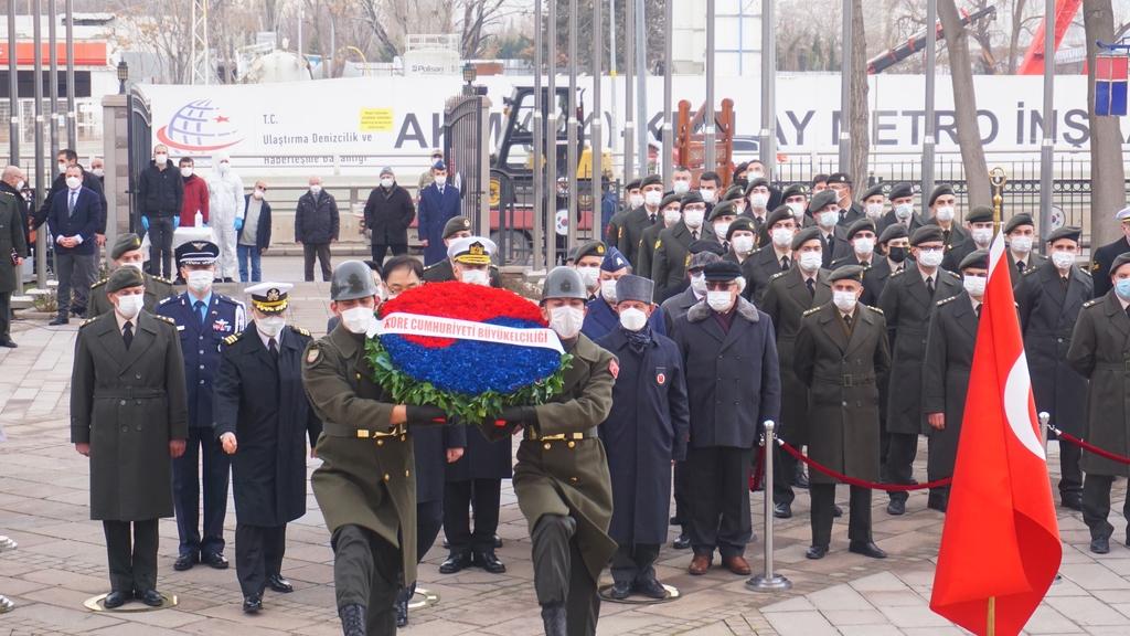 주터키한국대사관, 6·25 전쟁 금양장리 전투 70주년 행사 개최