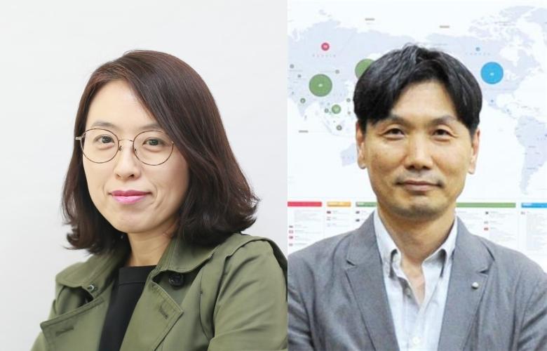 KIST 황은미 박사(왼쪽)와 경북대 의대 석경호 교수