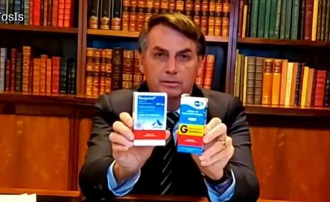 말라리아약·구충제 사용 주장하는 브라질 대통령