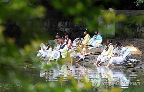 무등산 원효계곡에서 '선비들의 피서' 체험