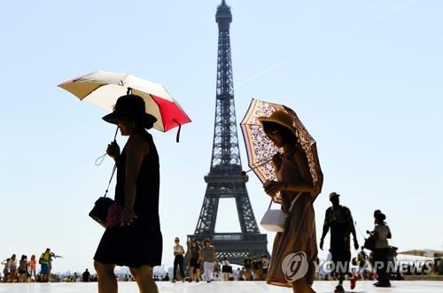 프랑스 파리의 랜드마크 에펠탑